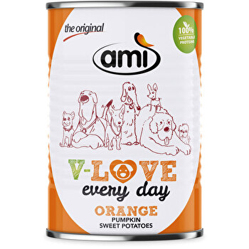 AMI - Love Every Day - Orange