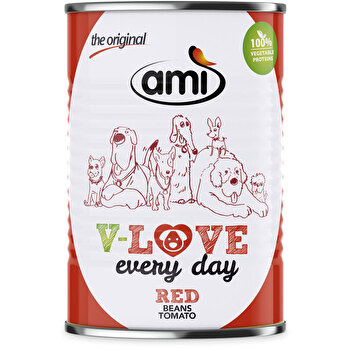AMI - Love Every Day - Red