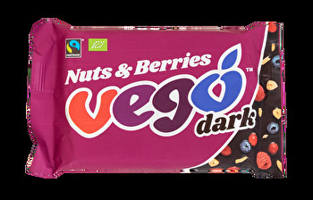 Vego Chocolate - Vego Dark Nuts & Berries